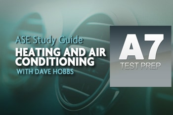 ASE Study Guide heating and A/C with Dave Hobbs