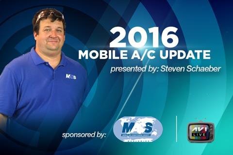 2016 Mobile AC Update Presented by Steven Schaeber